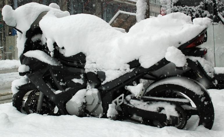 Przygotowanie motocyklu do zimy